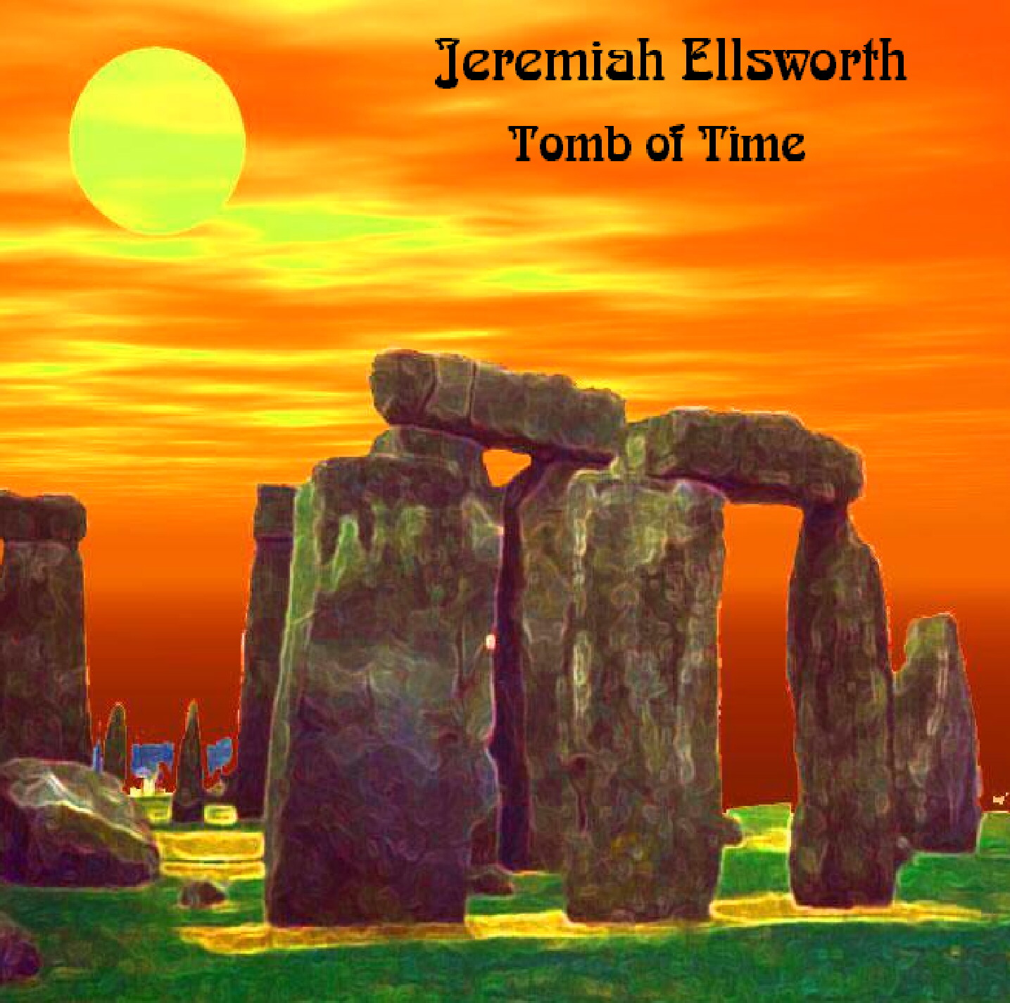 Jeremiah Ellsworth 'Tomb of Time' cover art