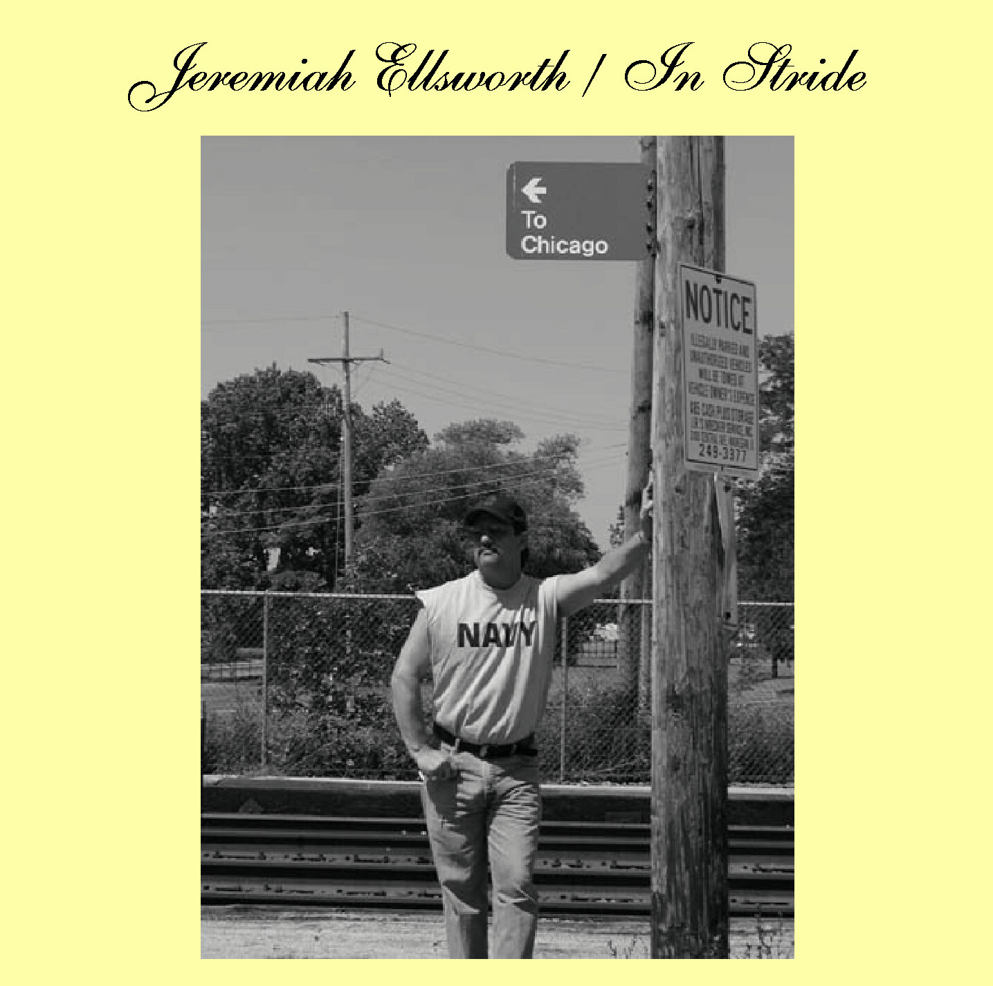 Jeremish Ellsworth 'In Stride' cover art